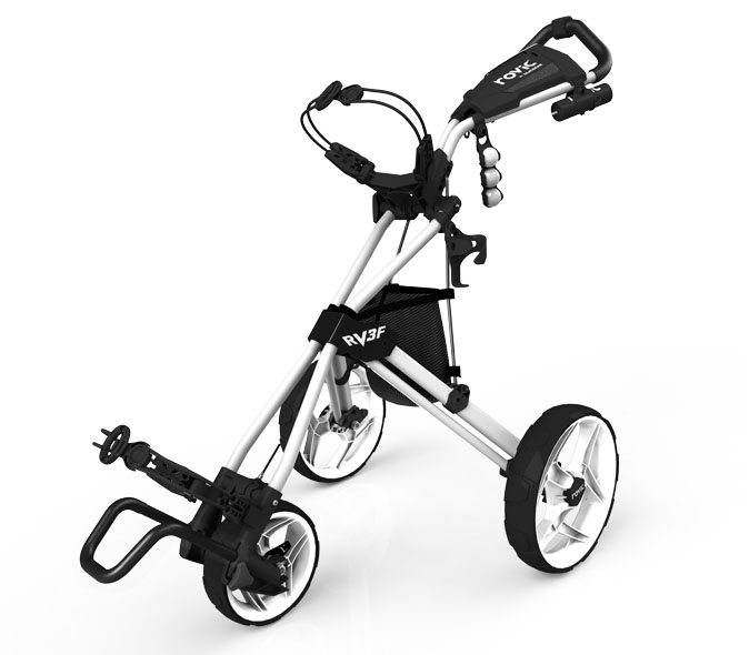 Rovic Pushcart Arctic White