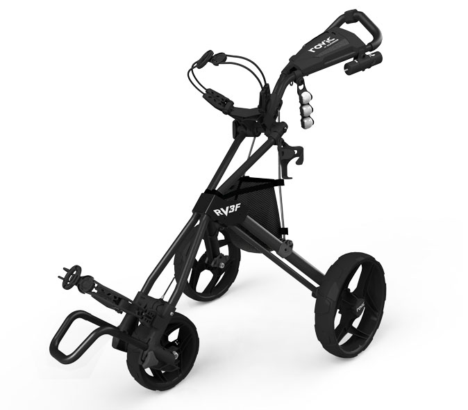 Rovic Pushcart Charcoal Black