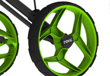 Rovic Oversized Rear Wheels