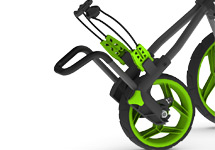 Rovic Adjustable Bag Support and Wheel